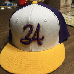 This LA24 style snap back is $20.jpg