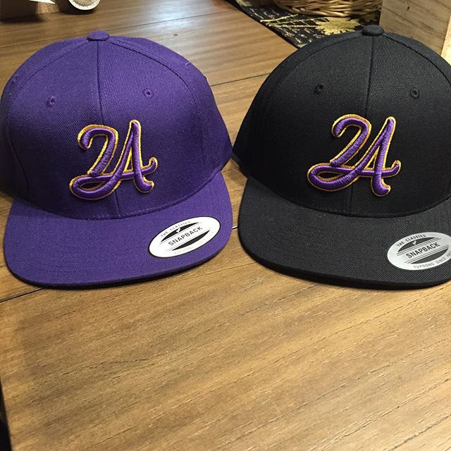 I have LA24 snap back caps for anyone interested these are $25.jpg