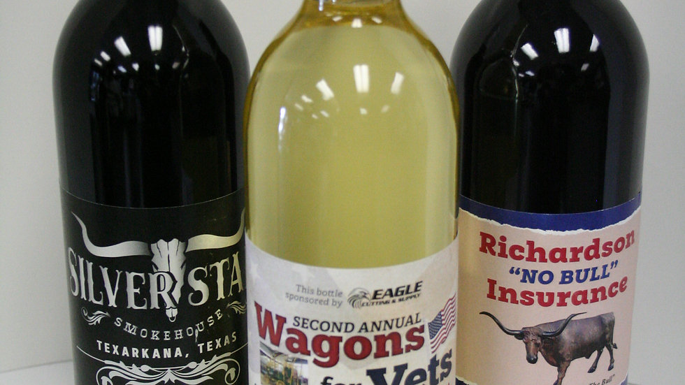 Wine Case- Your Own Custom Label