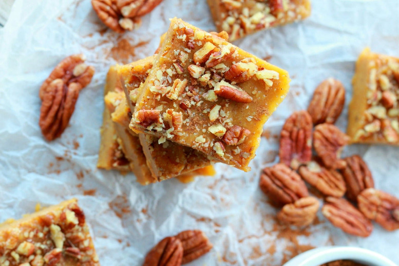Pumpkin Fudge (Calories 120Kcal )