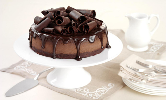 Chocolate Cheesecake (Calories 318.8)
