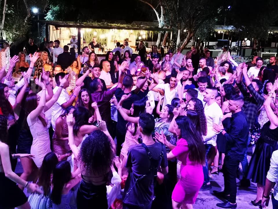 רחבת ריקודים בחתונה