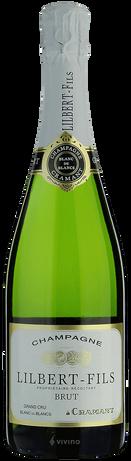 Champagne Lilbert-Fils Grand Cru Blanc de Blancs Brut