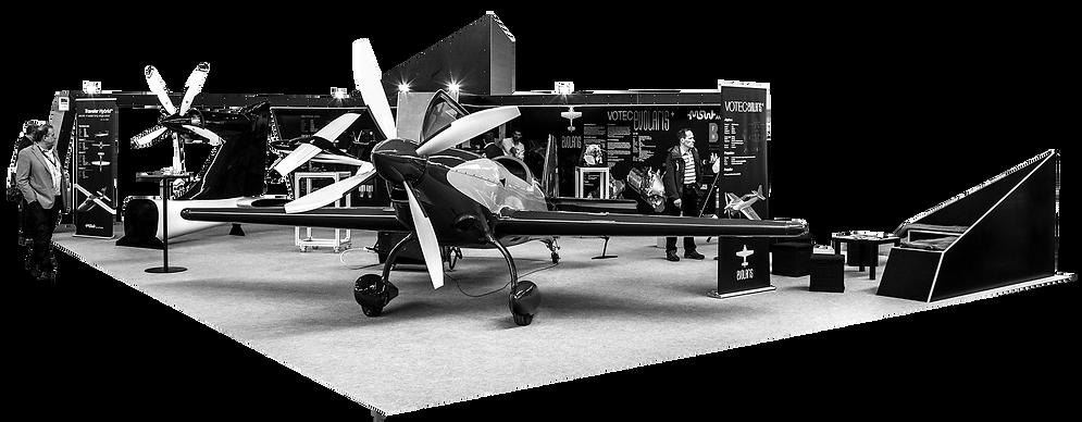 Marc Gerber Design Messestand Aero Friedrichshafen