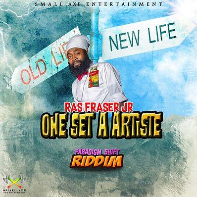 Ras Fraser Jr. - One Set a Artiste (Cove