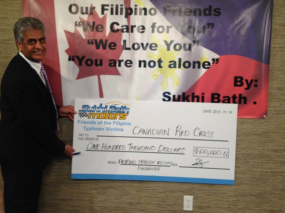 Typhoon Relief Fund - Sukhi Bath Foundation