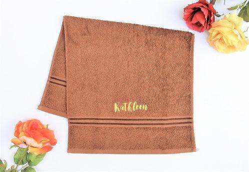 Brown Royal Cotton HAND Towel