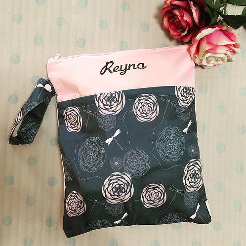 ROSES Multi-purpose Double Zip Bag