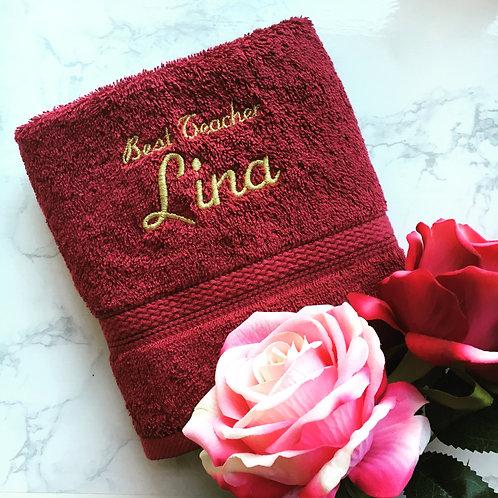 Royal Cotton HAND Towel (2-lines)