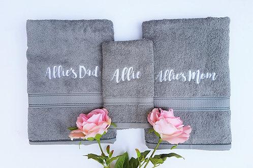 Family Towel Gift Set