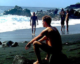 Gay Men Kehena Nude Beach Hawaii gay travel bed and breakfast .JPG