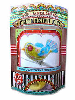 Bird Needle Felting Kit