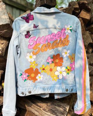 Custom jacket for @SunsetSaraid