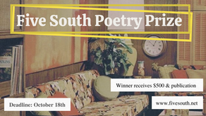 Poetry Prize - $500 Awarded