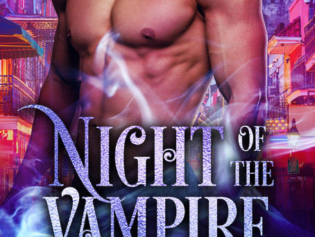 "SEXY TIMES! ""Night of the Vampire"" by L.E. Wilson"