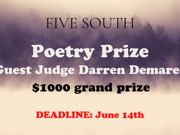 Poetry Prize - $1000 Awarded