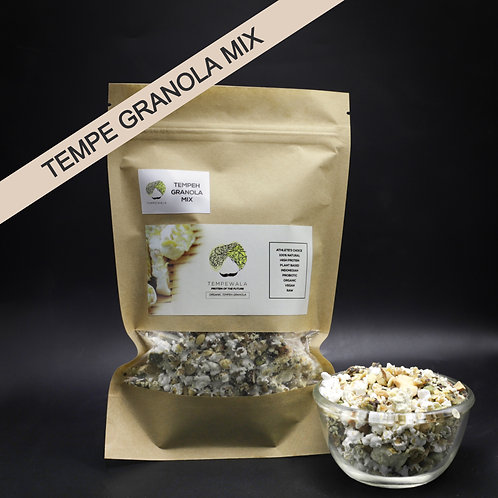 Mixed Nuts & Seeds Tempe Granola
