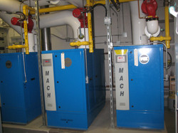 Boiler staging and installation