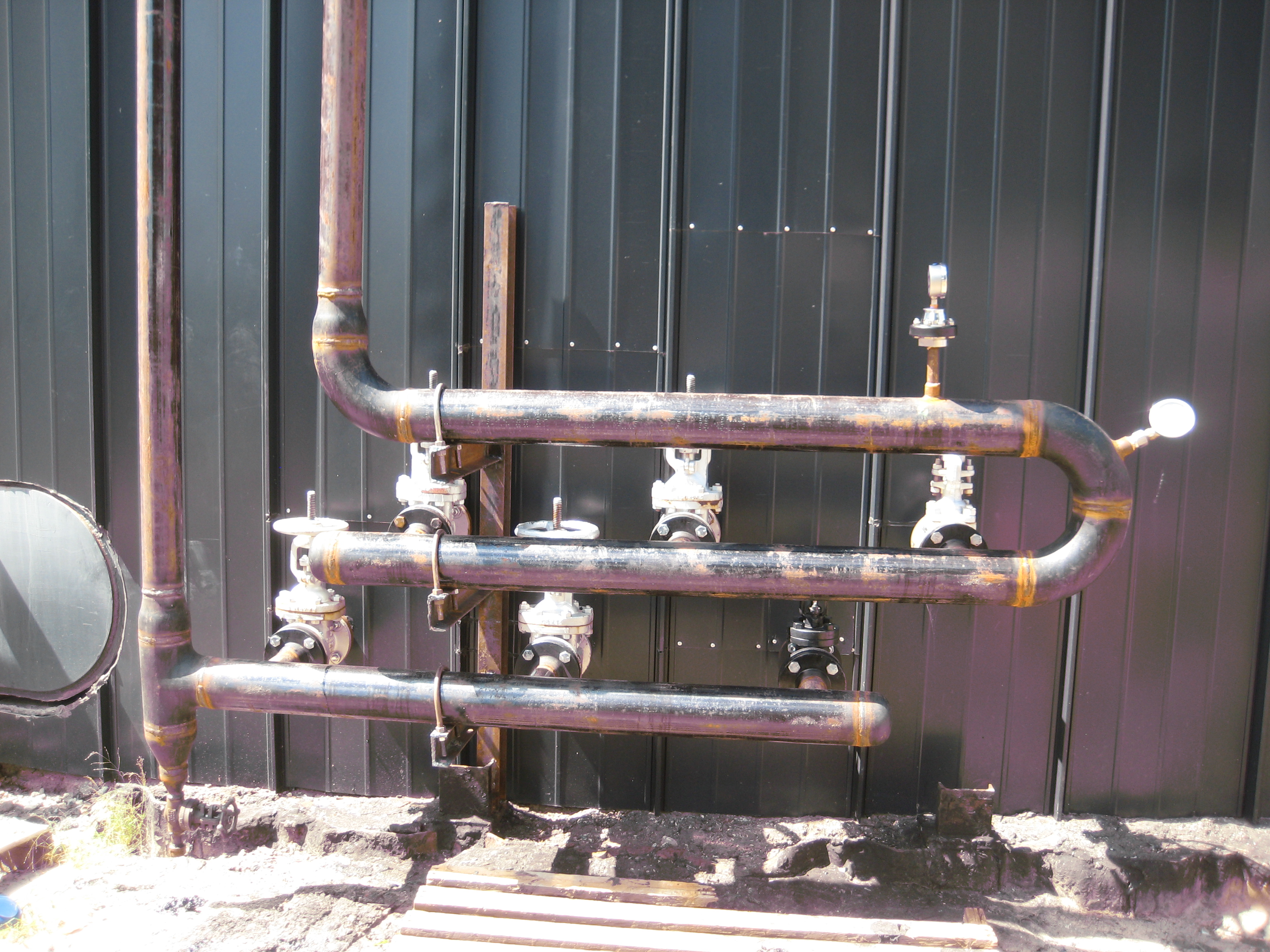 Custom Welded High Pressure Piping