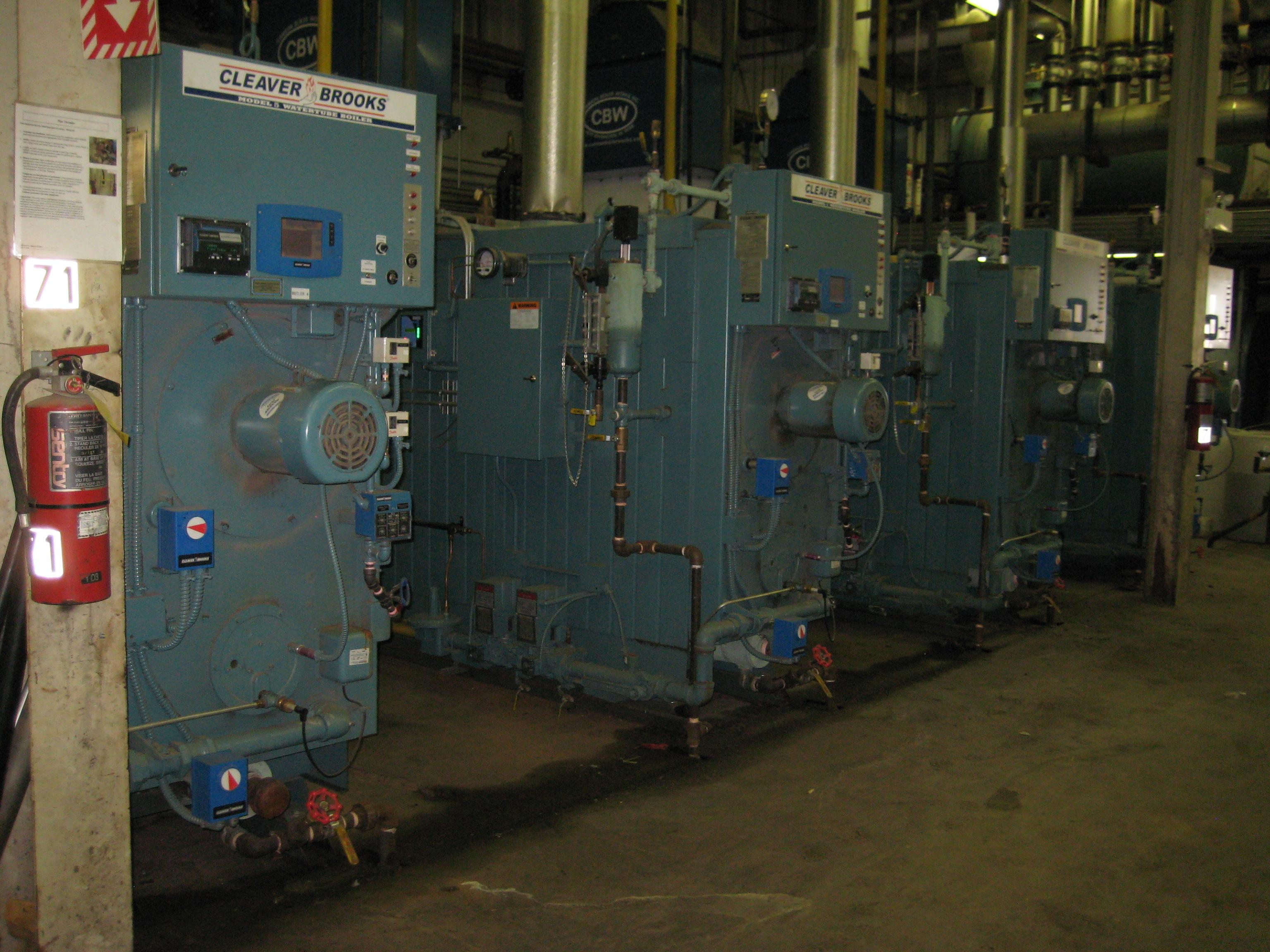 Boiler Staging