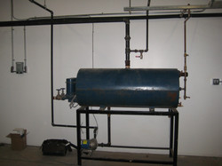 Blow down tanks and piping