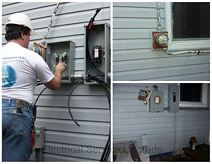 Electrical Service Upgrades and Repairs by Home Tech Solutions LLC