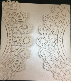 Doily Pink  £2.50