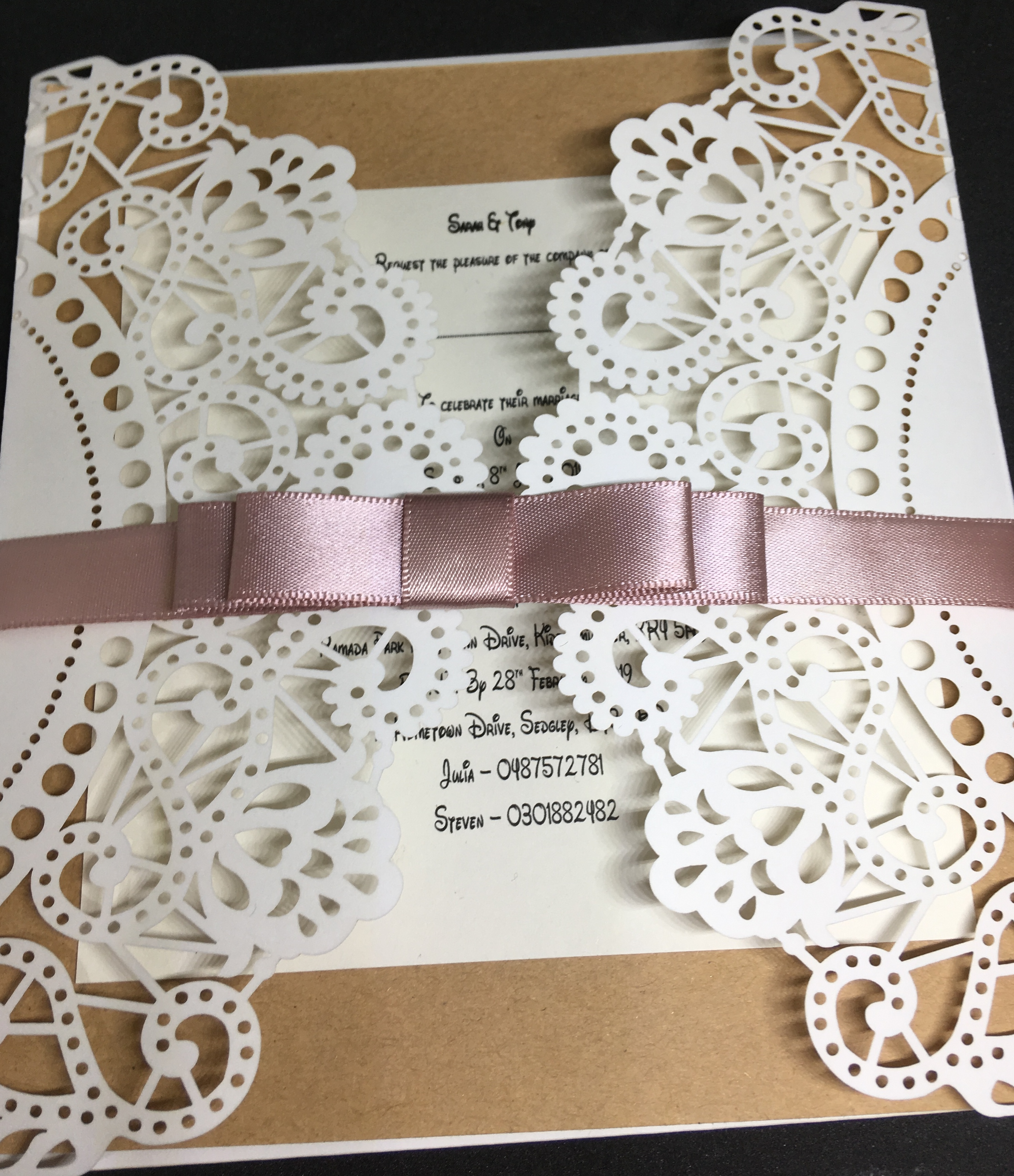 Rustic Doily - £2.00