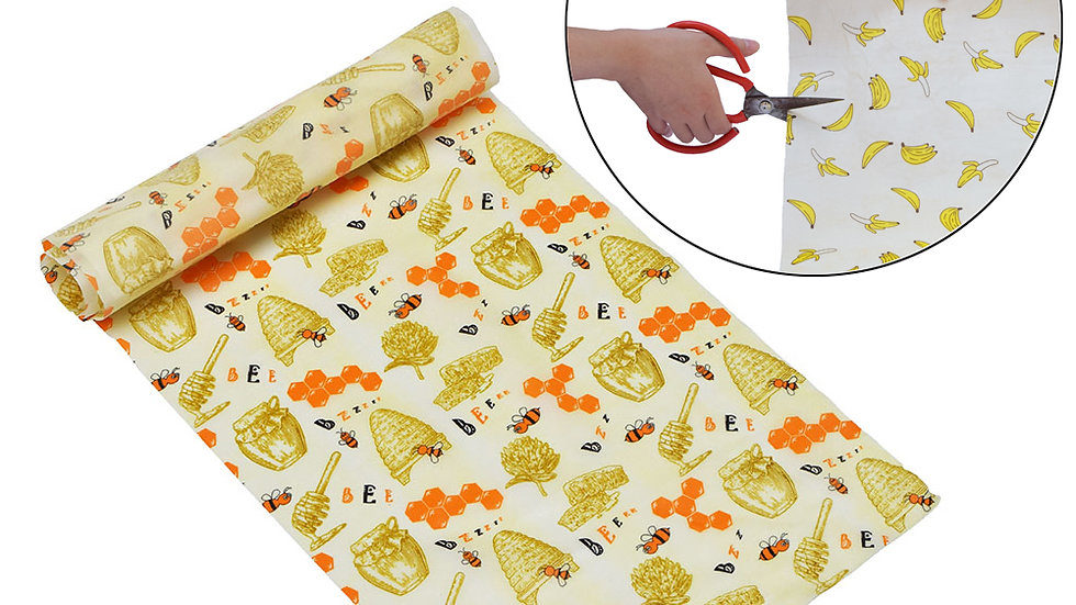 Beeswax Food Wrap Reusable Eco-Friendly Food Cover