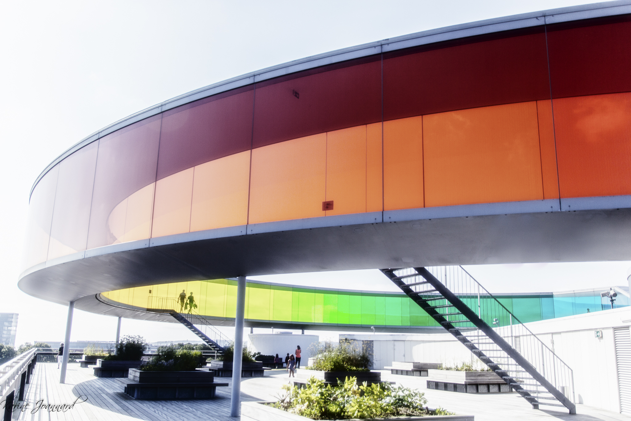Rainbow Panorama Aros by O.Eliasson