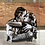 Thumbnail: (Sold) Miniature monochrome portraits