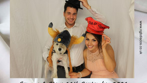 Who doesn't love a wedding photo booth?