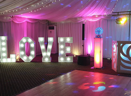 Another great wedding disco at Audleys Wood hotel