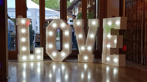 Photo booth and love letters at Rivervale barn