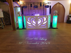 NGB Discos wedding DJ's at Rivervale Barn