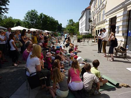 ulično gledališče, predstava, predstava za otroke, animacija za otroke, otroške predstave, otroške animacije