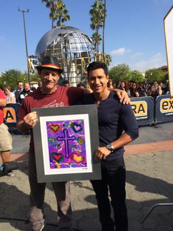 JD Shultz and Mario Lopez