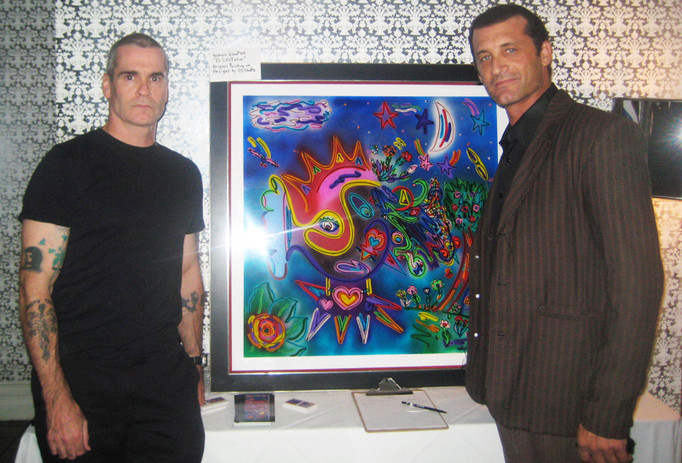 Henry Rollins and JD Shultz
