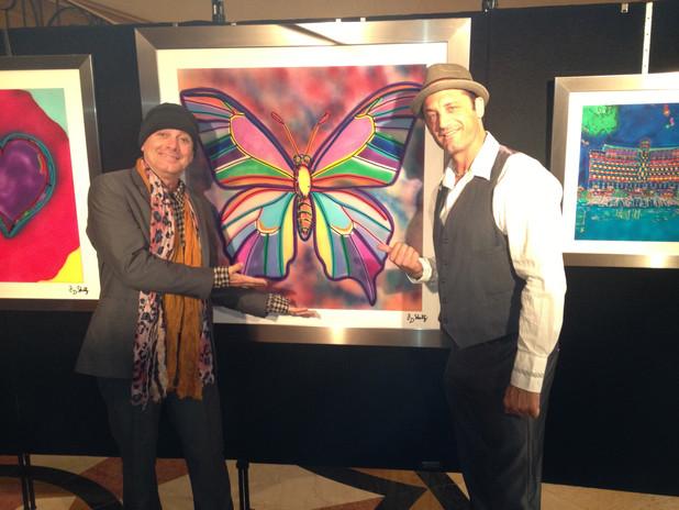 Robin Zander and JD Shultz