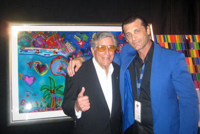 Tony Bennett and JD Shultz