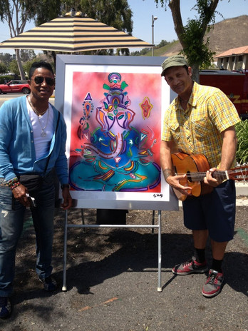 Jermaine Jackson and JD Shultz