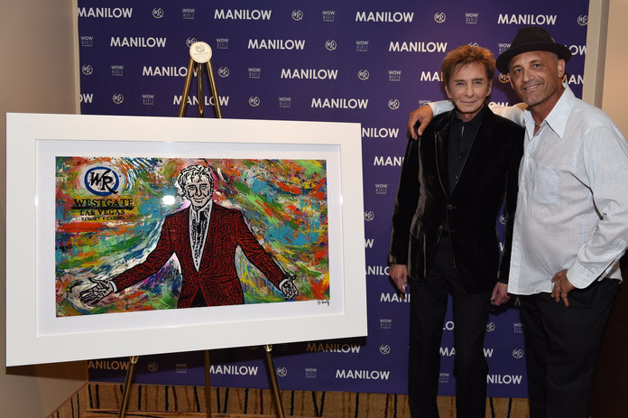Barry Manilow and JD Shultz
