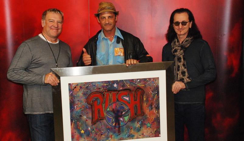 Rush and JD Shultz