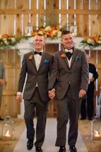 Dustin and Keith Beautiful Fall Barn wedding in Nashville TN