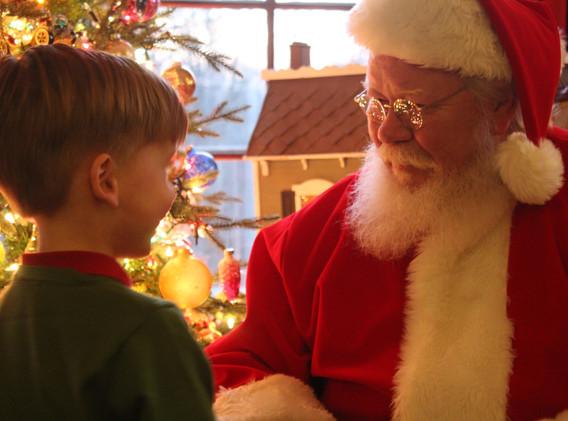 Santa at High Point Cottage