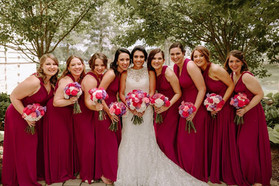 Look at the beautiful colors.  What a Fairytale Wedding in Nashville TN