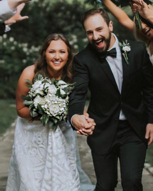 Spring wedding at Belle Meade Plantation.