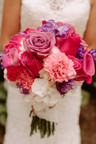 This bride had such awesome bold tastes in her flower choices.  We loved creating this fairy tale for this Disney Princess.