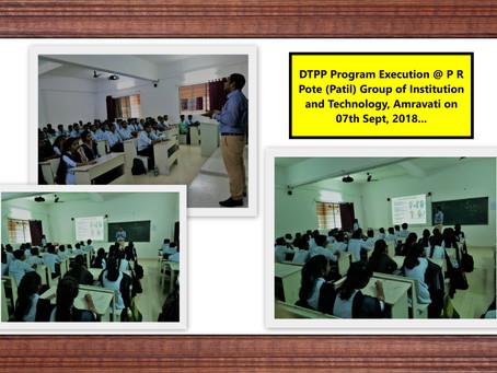 DTPP Execution @PRPCOEM, Amravati