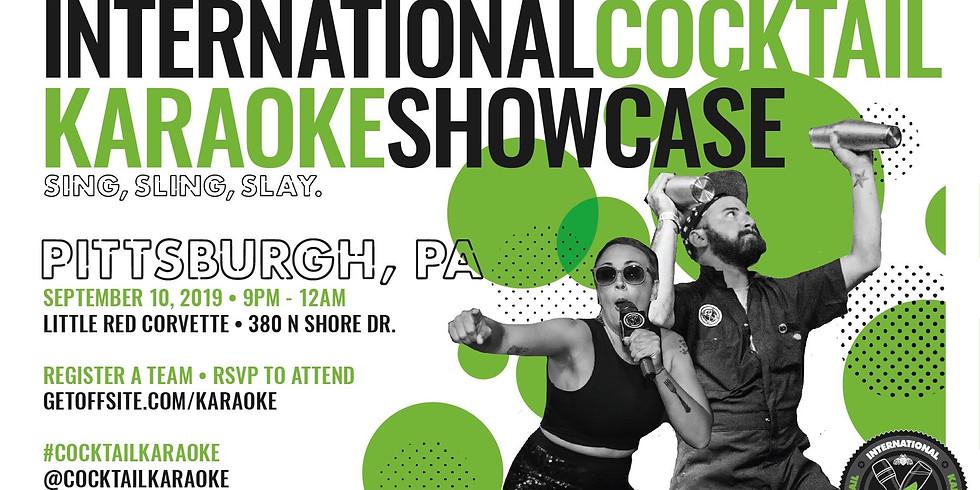 PATRÓN presents International Cocktail Karaoke Showcase